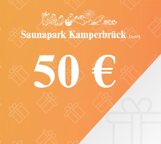 Gutschein über 50 Euro für den Saunapark Kamperbrück